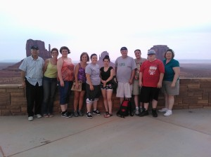 The Sparta Group in Monument Valley